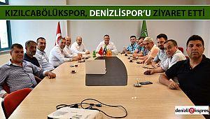 Kızılcabölükspor, Denizlispor'u ziyaret etti