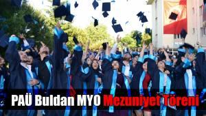 PAÜ Buldan MYO Mezuniyet Töreni