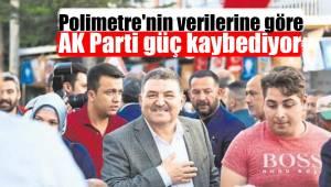 Polimetre'nin verilerine göre AK Parti güç kaybediyor