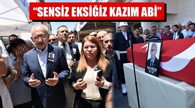 """""""SENSİZ EKSİĞİZ KAZIM ABİ"""""""