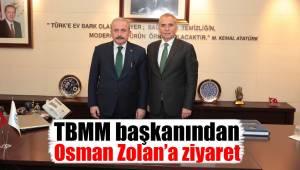 TBMM başkanından Osman Zolan'a ziyaret