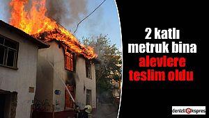 Vatandaşlar güne duman ve alevlerle uyandı
