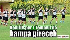 Y.Denizlispor 1 Temmuz'da kampa girecek