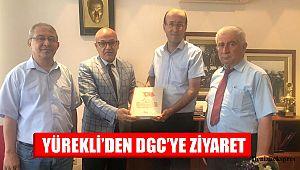 YÜREKLİ'DEN DGC'YE ZİYARET