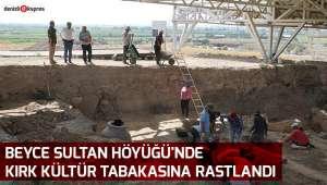 Beyce Sultan Höyüğü'nde Kırk Kültür tabakasına rastlandı