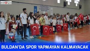 Buldan'da spor yapmayan kalmayacak