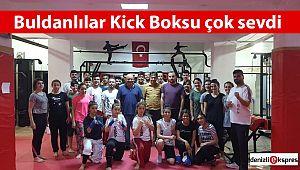 Buldanlılar Kick Boksu çok sevdi