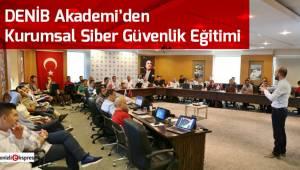 DENİB Akademi'den Kurumsal Siber Güvenlik Eğitimi
