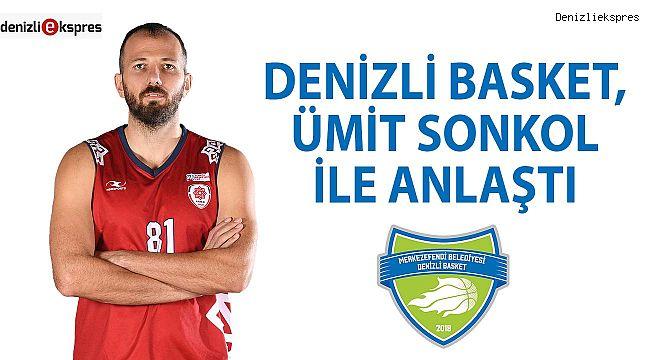 Denizli Basket, Ümit Sonkol ile anlaştı