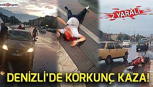 Denizli'de korkunç kaza!