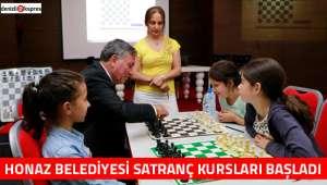 Honaz Belediyesi satranç kursları başladı