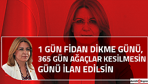 İKTİDARIN AĞAÇ SEVGİSİNİ ODTÜ'DEN BİLİYORUZ!