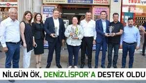 Nilgün Ök, Denizlispor'a destek oldu