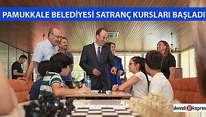 Pamukkale Belediyesi santranç kursları başladı