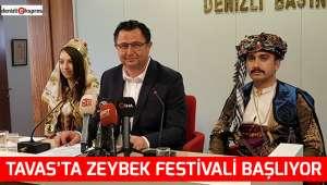 Tavas'ta Zeybek Festivali başlıyor