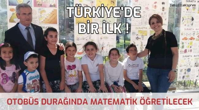 Türkiye'de bir ilk... İlk kez Acıpayam'da
