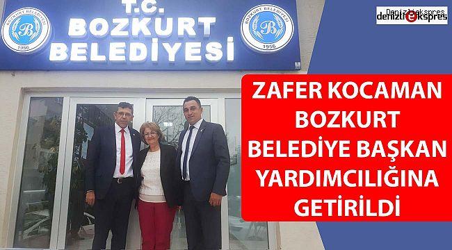 ZAFER KOCAMAN BOZKURT BELEDİYE BAŞKAN YARDIMCILIĞINA GETİRİLDİ