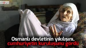 104 Yaşındaki Durdu Nine uzun yaşamanın sırrını anlattı