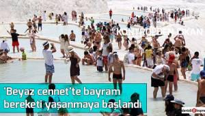 'Beyaz cennet'te bayram bereketi yaşanmaya başlandı