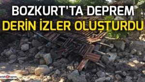 Bozkurt'ta deprem derin izler oluşturdu