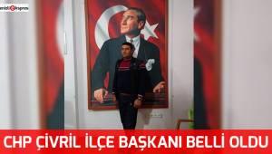 CHP Çivril İlçe Başkanı belli oldu