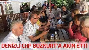 Denizli CHP Bozkurt'a akın etti