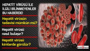 Hepatit Virüsü ile ilgili bilinmeyenler!