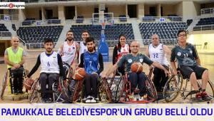 PAMUKKALE BELEDİYESPOR'UN GRUBU BELLİ OLDU