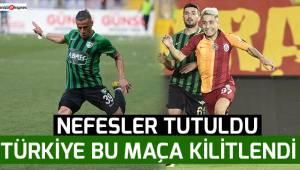 Türkiye bu maça kilitlendi