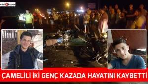 Çamelili 2 genç öldü, Polis memuru ağır yaralı