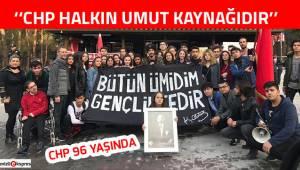 ''CHP halkın umut kaynağıdır''