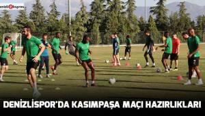 Denizlispor'da Kasımpaşa maçı hazırlıkları
