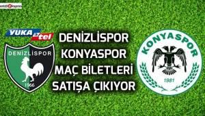 Denizlispor, Konyaspor maç biletleri satışa çıkıyor