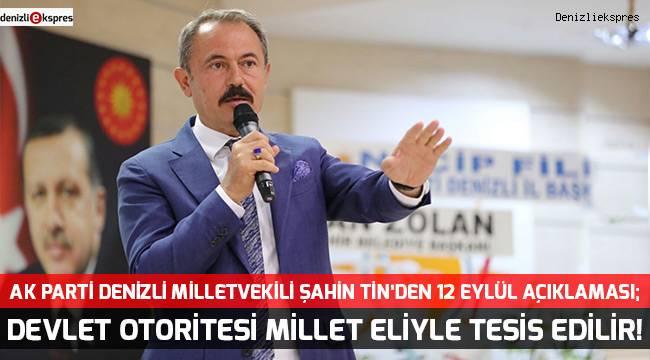 DEVLET OTORİTESİ MİLLET ELİYLE TESİS EDİLİR!