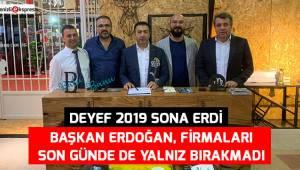 DEYEF 2019 SONA ERDİ