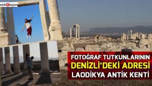 Fotoğraf tutkunlarının Denizli'deki adresi Laodikya Antik Kenti