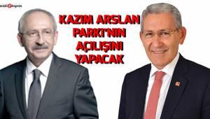 KAZIM ARSLAN PARKI'NIN AÇILIŞINI YAPACAK