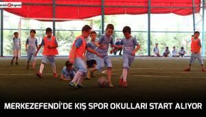 MERKEZEFENDİ'DE KIŞ SPOR OKULLARI START ALIYOR