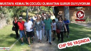 ''Mustafa Kemal'in çocuğu olmaktan gurur duyuyorum''