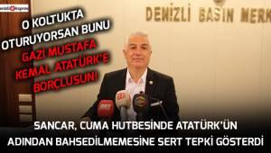 O koltukta oturuyorsan bunu Gazi Mustafa Kemal Atatürk'e borçlusun!