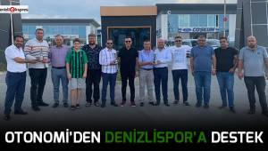Otonomi'den Denizlispor'a destek