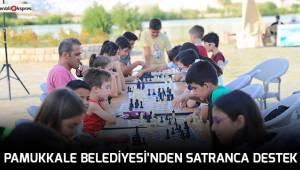 Pamukkale Belediyesi'nden satranca destek