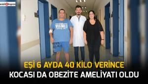 PAÜ'de karı kocaya obezite ameliyatı