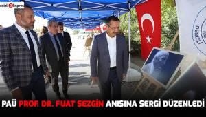 PAÜ Prof. Dr. Fuat Sezgin anısına sergi düzenledi