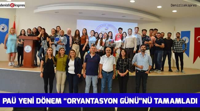 """PAÜ yeni dönem """"Oryantasyon Günü""""nü tamamladı"""