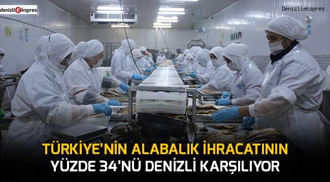 Türkiye'nin alabalık ihracatının yüzde 34'nü Denizli karşılıyor