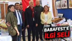 BABAFEST'E İLGİ SELİ