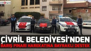 Çivril Belediyesi'nden Barış Pınarı Harekatına bayraklı destek
