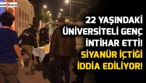 Denizli'de intihar eden üniversiteli gencin siyanür içtiği iddiası
