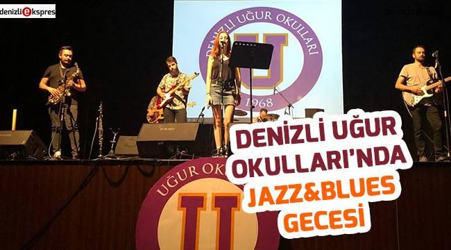 Denizli Uğur Okulları'nda Jazz&Blues Gecesi